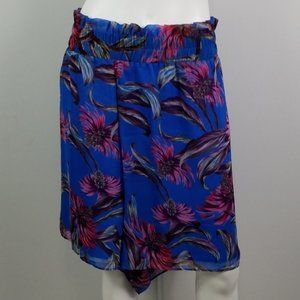 Nordstrom Leith Shorts Sz 4X Pull On Floral